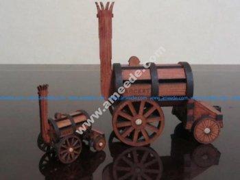 Stephenson's Rocket 3D Puzzle