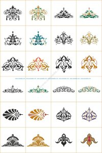 Swirl Vector Patterns Coreldraw