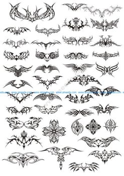 Tattoos Vector Pack