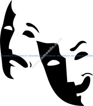 Theater Logo Mask