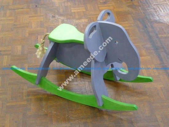 Toy Elephant Rocker