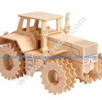 Tractor Vector model CNC router and laser cutting