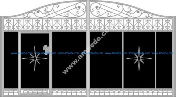 Vector Gate Wicket Fence
