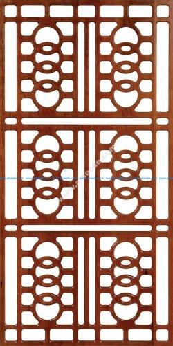 Wall Separator Pattern 300-v38