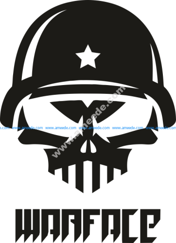 Warface Dj Logo Vector
