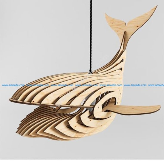 Whale Lamp 4mm-new