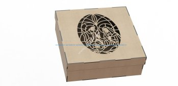 Wood Laser Cut Box