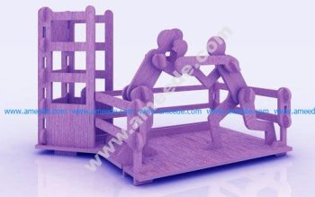 Boxing Pen Holder Stand 3mm