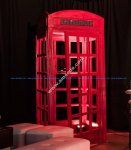Red British Phone Box Laser Cut Plans