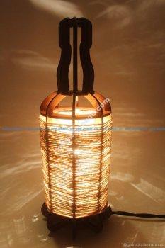 Tabletop Night Light Lantern Plywood Laser Cut 3mm