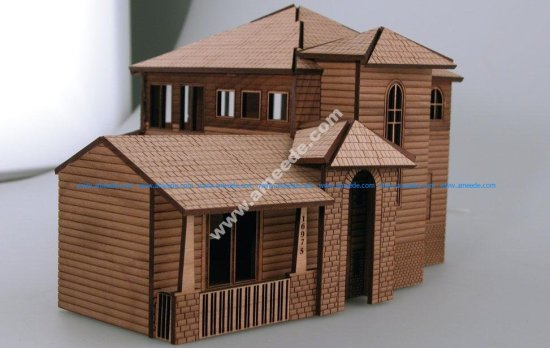 Architectural Model House