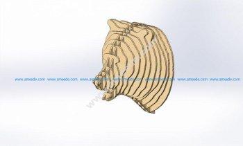 Bear 3D Puzzle Plans