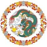 Chinese dragon illustration