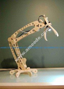 Laser Cut Desk Lamp