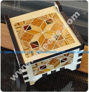 Laser Cutting a Wood Veneer Inlay Box