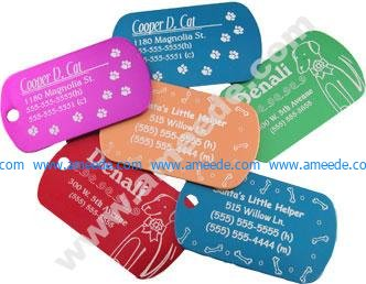 Laser Engraving Pet Tags