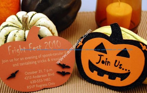 Laser Engraving a Halloween Party Invitation