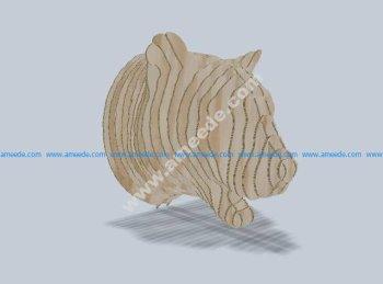 Leopard 3D Puzzle