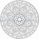 Mandala a colorier gratuit a imprimer 6