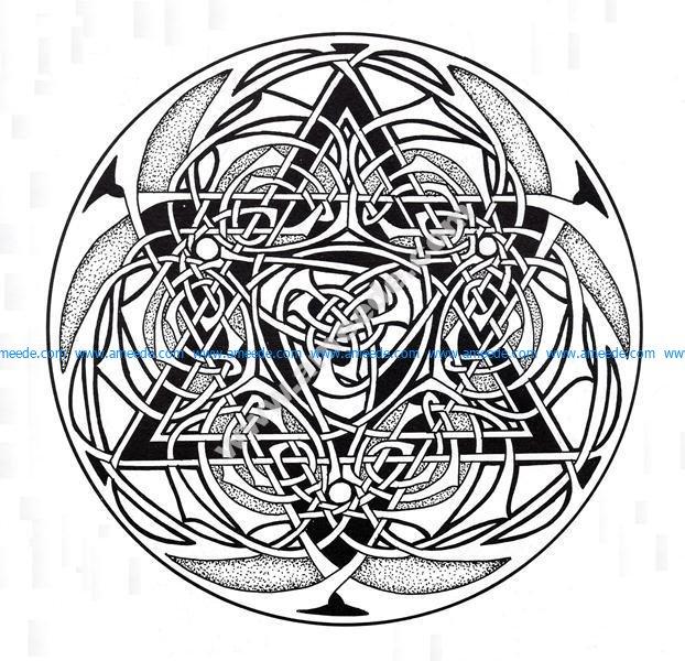 Mandala celtique 10
