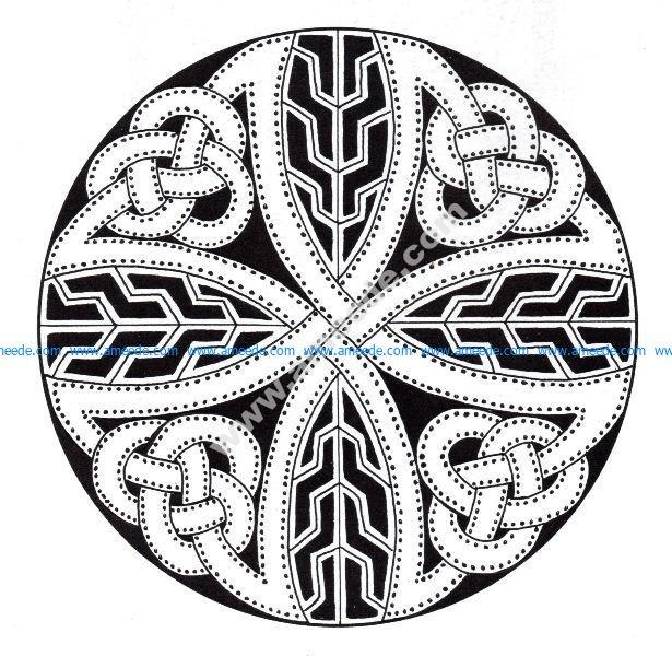 Mandala celtique 15