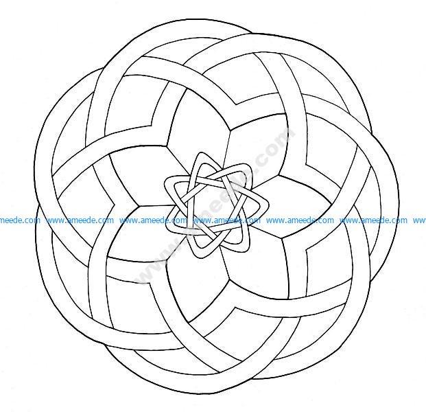 Mandala celtique 17