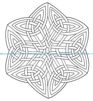 Mandala celtique 19