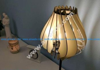 Laser cutted Lamp