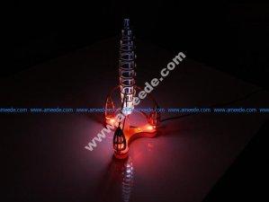 3D puzzle Space Rocket