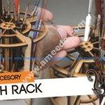 Hobby Brush Rack