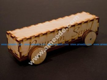 Laser-Cut Derby Car