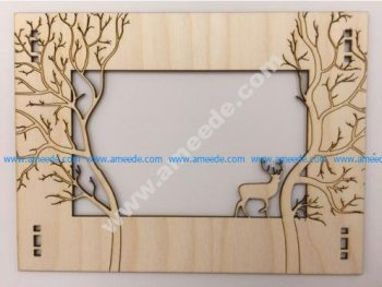 Laser cut Forest Frame