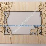 Laser cut Forest Frame
