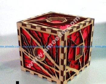 Layer cube
