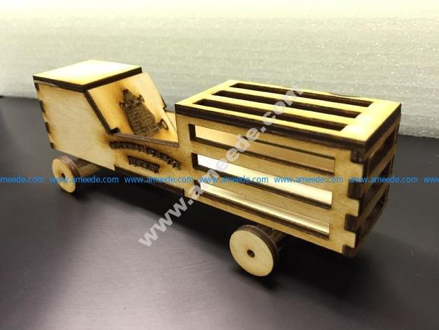 Orange Crate Derby Car