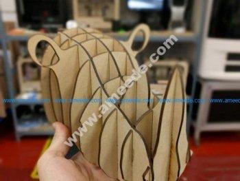 Rhino Head for Laser Cutting