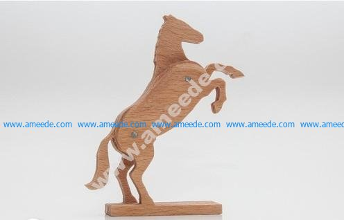 Rising Horse 3-layered-animal