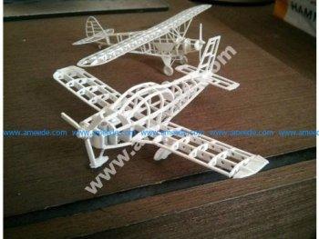 Zlin Z-242 frame model