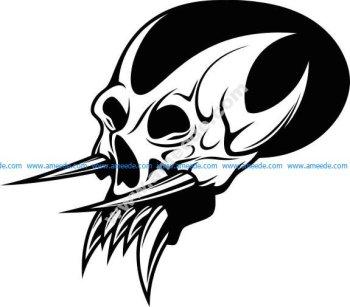 skull demon