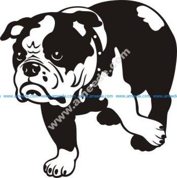 Bulldog anglais Sticker