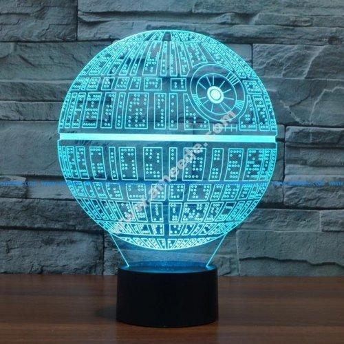 sphere 3d illusion lamp vector file