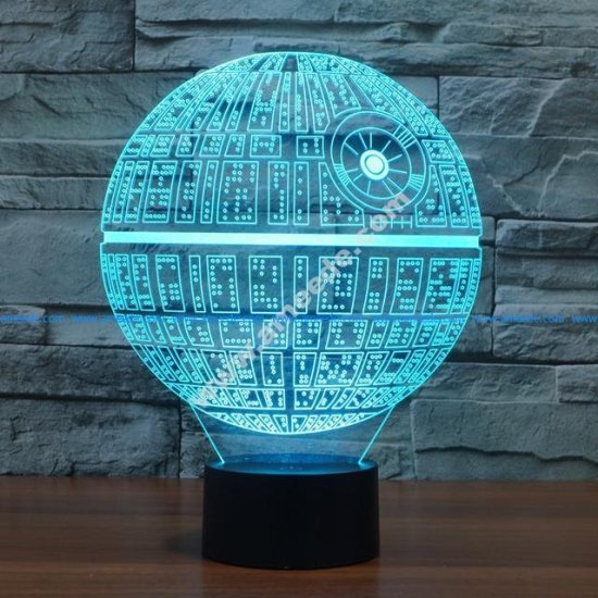 sphere 3d illusion lamp vector file