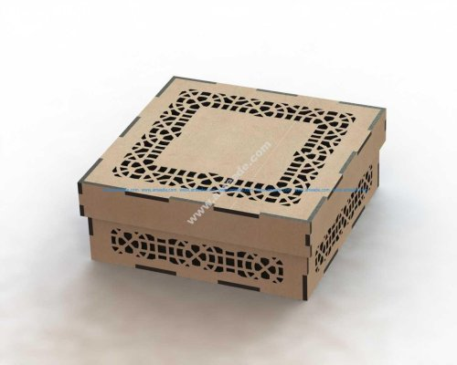 Laser Cut Box Pattern