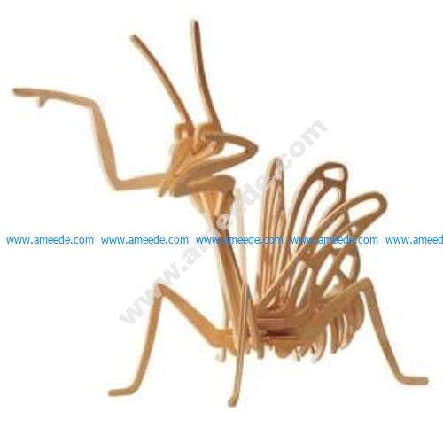 Mantis 3D Puzzle
