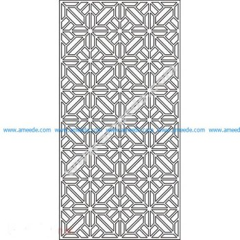 pattern vector cnc carvings 2D17