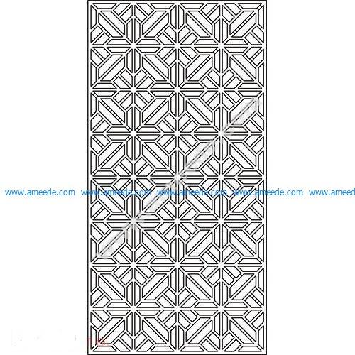 pattern vector cnc carvings 2D17
