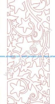pattern vector cnc carvings 2D3