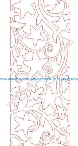 pattern vector cnc carvings 2D3