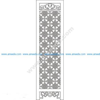 pattern vector cnc carvings 2D7