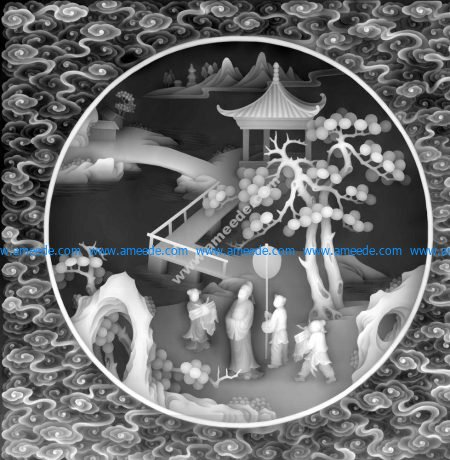 3d Grayscale Image Chinese BMP